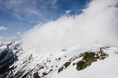 Tatra mountains in winter Royalty Free Stock Photo
