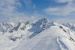 Tatra mountains in winter Stock Photography