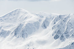 Tatra mountains in winter Royalty Free Stock Photography