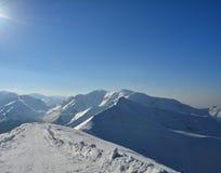 Tatra mountains in winter Stock Photo