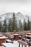 Tatra Mountains in winter Stock Images