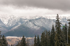 Tatra Mountains in Zakopane, Poland Royalty Free Stock Photo
