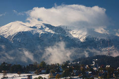 Tatras Peaks in Snow Royalty Free Stock Photography