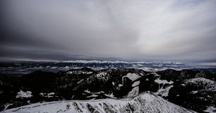 Tatra. Slovakian snow cover mountains, January Royalty Free Stock Images