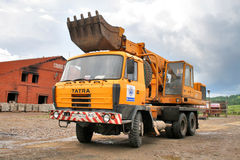 Tatra T815 UDS 214 Imagen de archivo libre de regalías