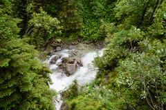 Tatra-Wasserfall Lizenzfreie Stockbilder