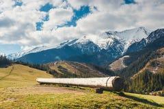 Tatrabergen in de lentetijd, Slowakije Royalty-vrije Stock Foto's