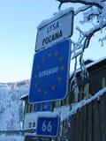 Tatrabergen in Polen en Slowakije Royalty-vrije Stock Foto's