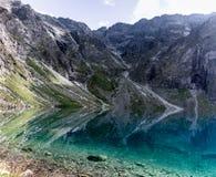 Tatrabergen in Polen in Europa royalty-vrije stock foto's