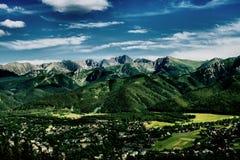 tatras βουνών Στοκ Φωτογραφίες