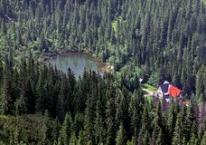 tatras λιμνών tatliak δυτικά στοκ φωτογραφίες