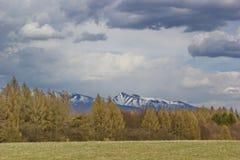 Tatras την πρώιμη άνοιξη, Σλοβακία Στοκ εικόνα με δικαίωμα ελεύθερης χρήσης