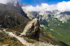 tatras της Σλοβακίας υψηλών βουνών Στοκ Φωτογραφία