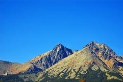 tatras высоких гор стоковые изображения