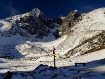 tatras пейзажа высокой горы Стоковая Фотография