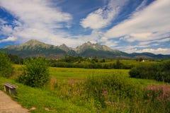 高Tatras 免版税库存图片