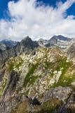 高Tatras 库存照片