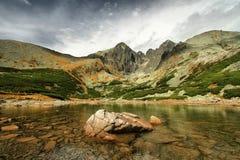 高Tatras 库存图片
