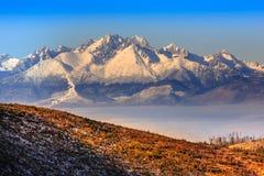 Tatras Arkivbilder