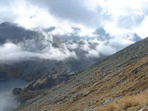 Tatras climbing Stock Image