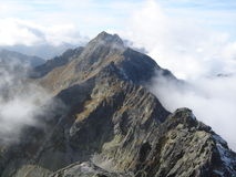 Tatras climbing Royalty Free Stock Images