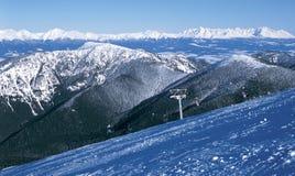 Tatras del cielo y tierra Foto de archivo libre de regalías
