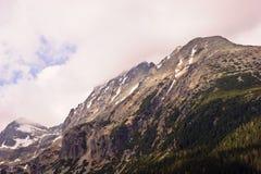 Tatras elevado nebuloso Fotografia de Stock Royalty Free