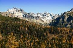 Tatras elevados Imagem de Stock