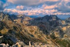 Tatras elevados Imagens de Stock Royalty Free