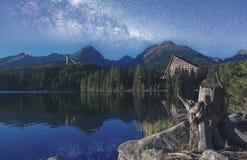 Tatras elevados Imagens de Stock
