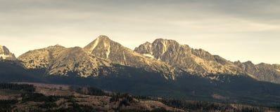 Tatras elevados Fotografia de Stock