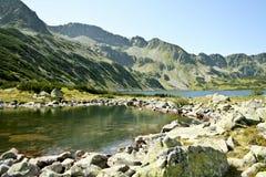 Tatras landskap. Arkivbild