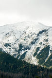 Tatras Mountains covered with snow - Poland Royalty Free Stock Image