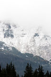 Tatras Mountains covered with snow - Poland Stock Photo