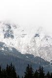 Tatras Mountains covered with snow - Poland Stock Photo