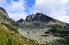 Tatras mountains (Poland). On AUGUST 2014 Stock Photography