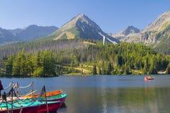 Tatras mountains of Slovakia, near Poland Royalty Free Stock Photo