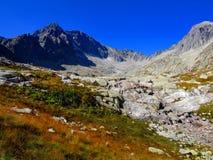 高Tatras Moutains 免版税图库摄影