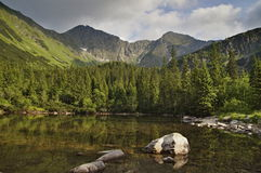 Tatras occidental image stock