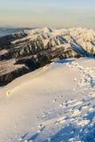 Tatras occidental Foto de archivo libre de regalías