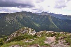 Tatras occidental Images libres de droits