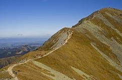 Tatras occidentale fotografia stock libera da diritti