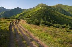 Tatras occidentale Immagini Stock