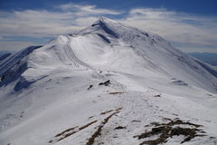 Tatras occidentaux en hiver Photos libres de droits