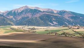Tatras ocidental, Eslováquia Foto de Stock Royalty Free