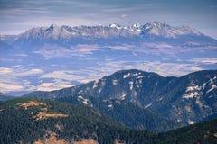 tatras Slovakia wysokiej góry zdjęcia stock