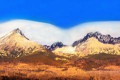 Tatras vingar Arkivbild