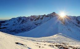 Tatras Winter in Poland Royalty Free Stock Photos