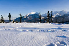 Tatras in winter season Royalty Free Stock Photography
