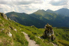 tatry berg Royaltyfria Bilder